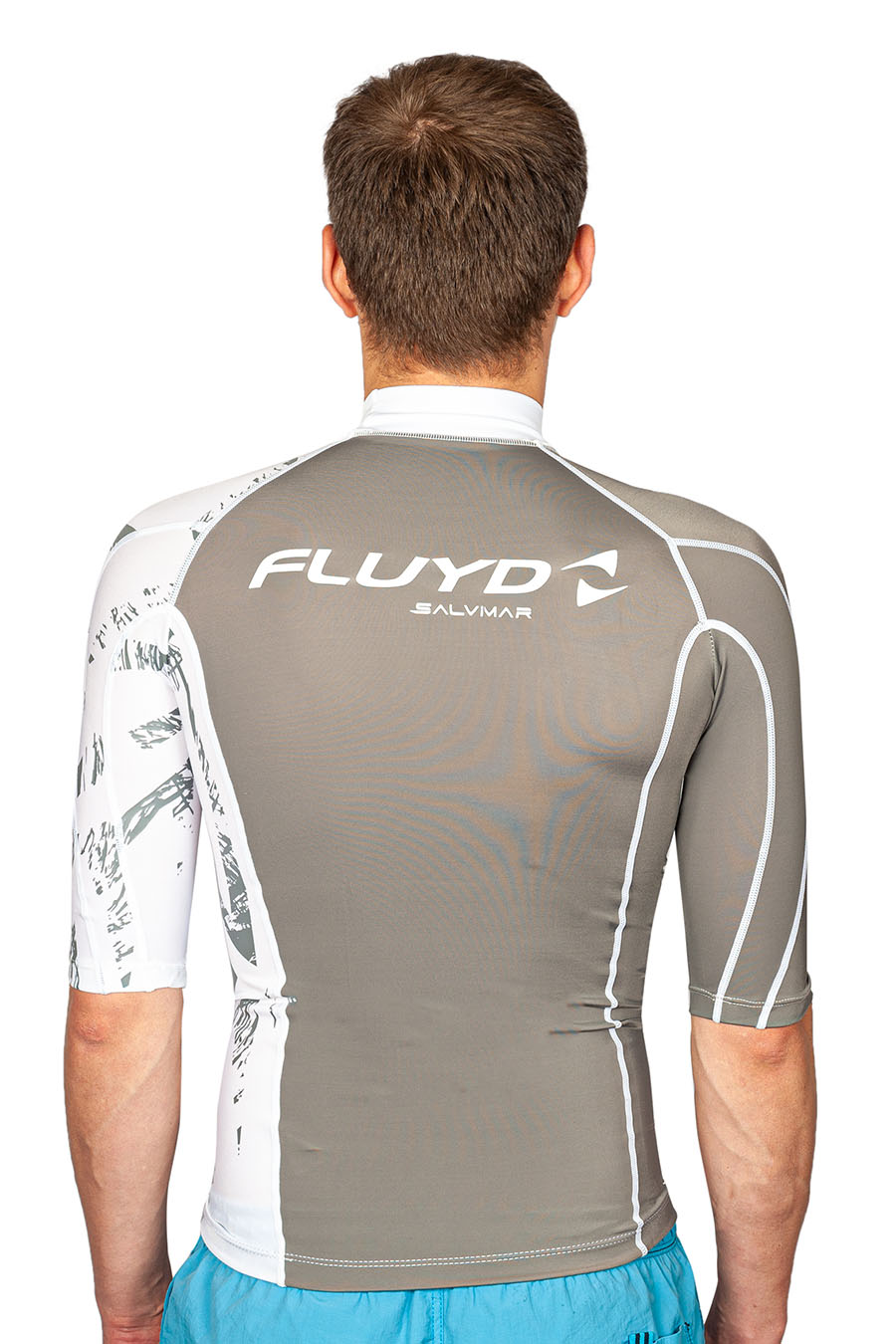 Футболка из лайкры FLUYD RASH GUARD man, L